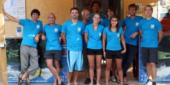 L'équipe de Réals Canoë Kayak