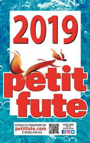 """Référencé par le """"Petit Futé"""" 2019"""